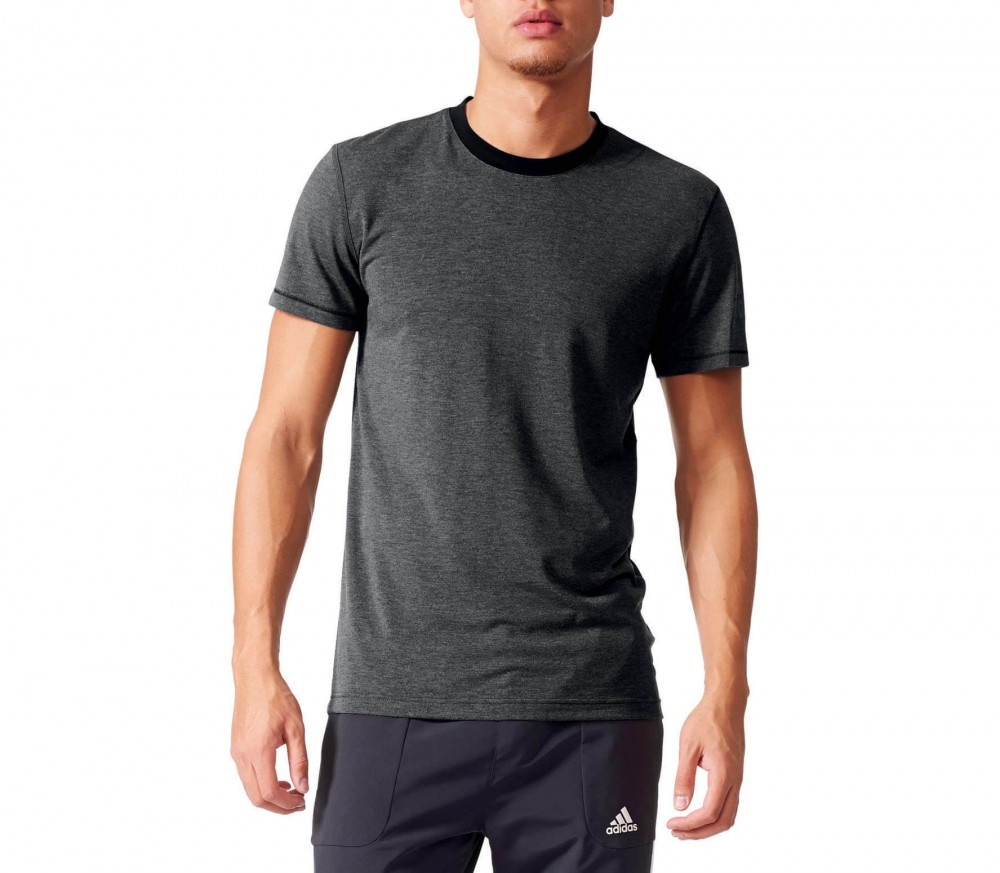 Adidas - Prime Tee men's training top (grey)