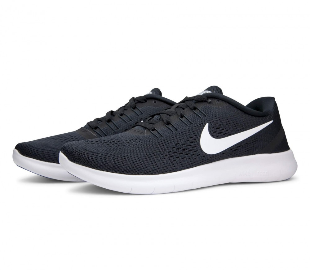 Nike - Free RN women's running shoes (white/black)