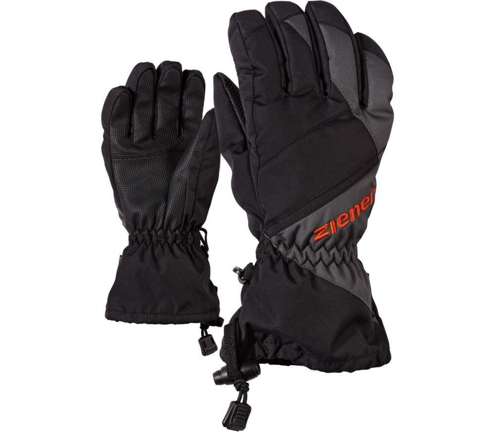 Ziener - Agil AS© Children ski gloves (black/grey)