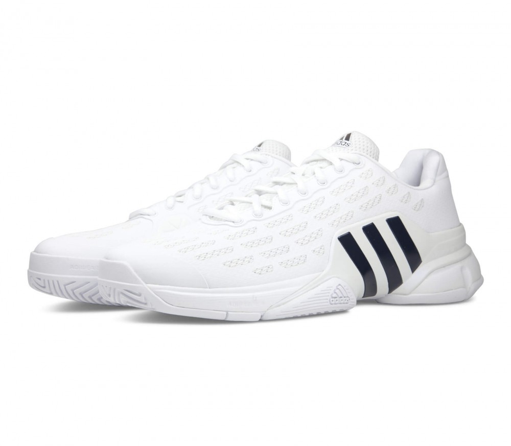 Adidas - Barricade 2016 men's tennis shoes (white/black)