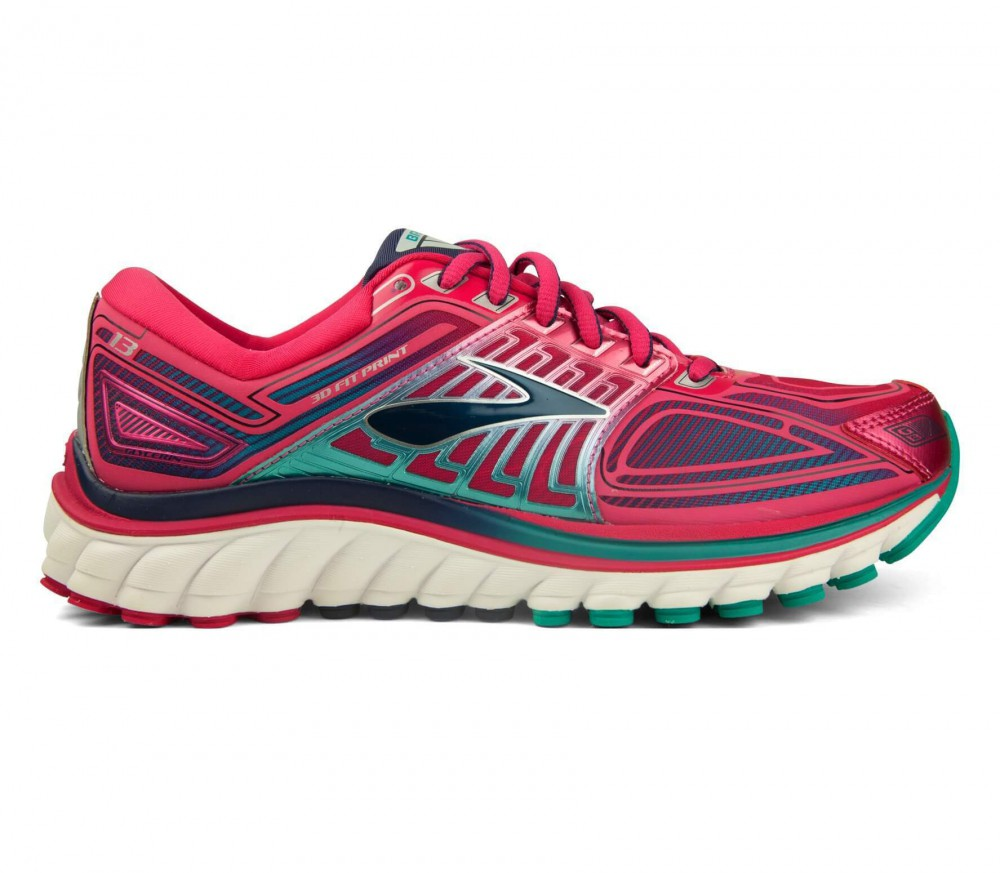brooks glycerin 13 women 39 s running shoes pink white. Black Bedroom Furniture Sets. Home Design Ideas