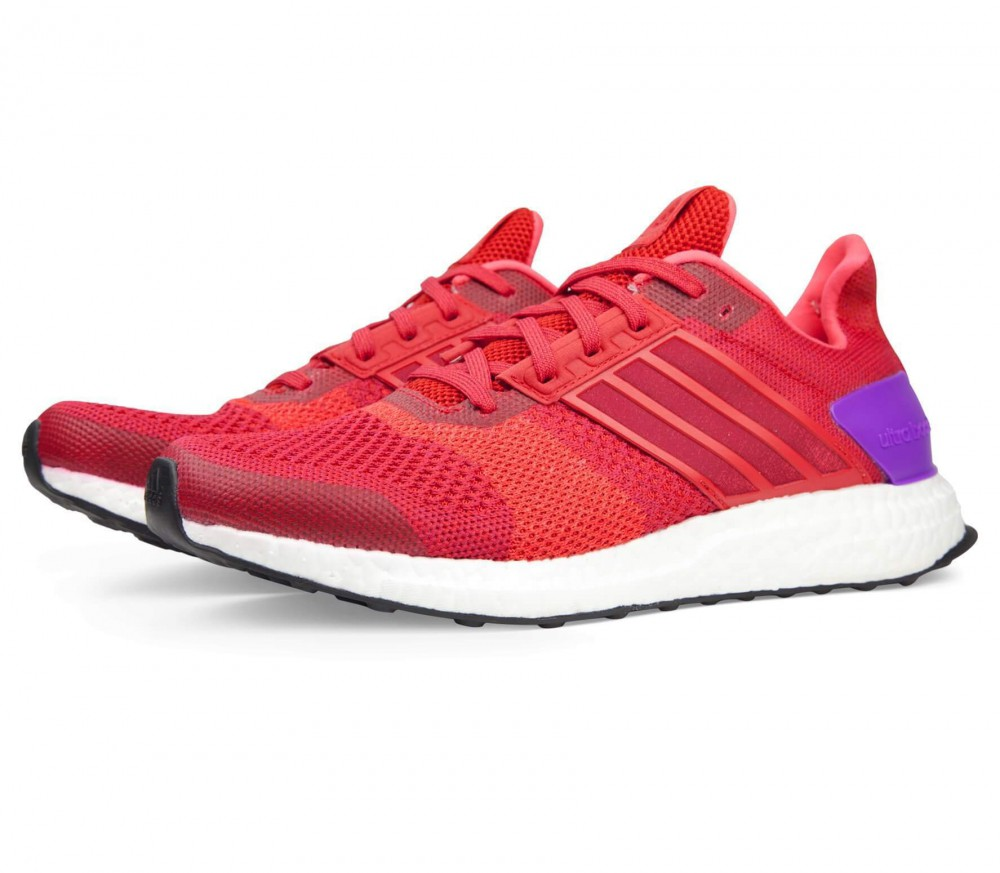 Adidas - Ultra Boost ST women's running shoes (red/lilac)