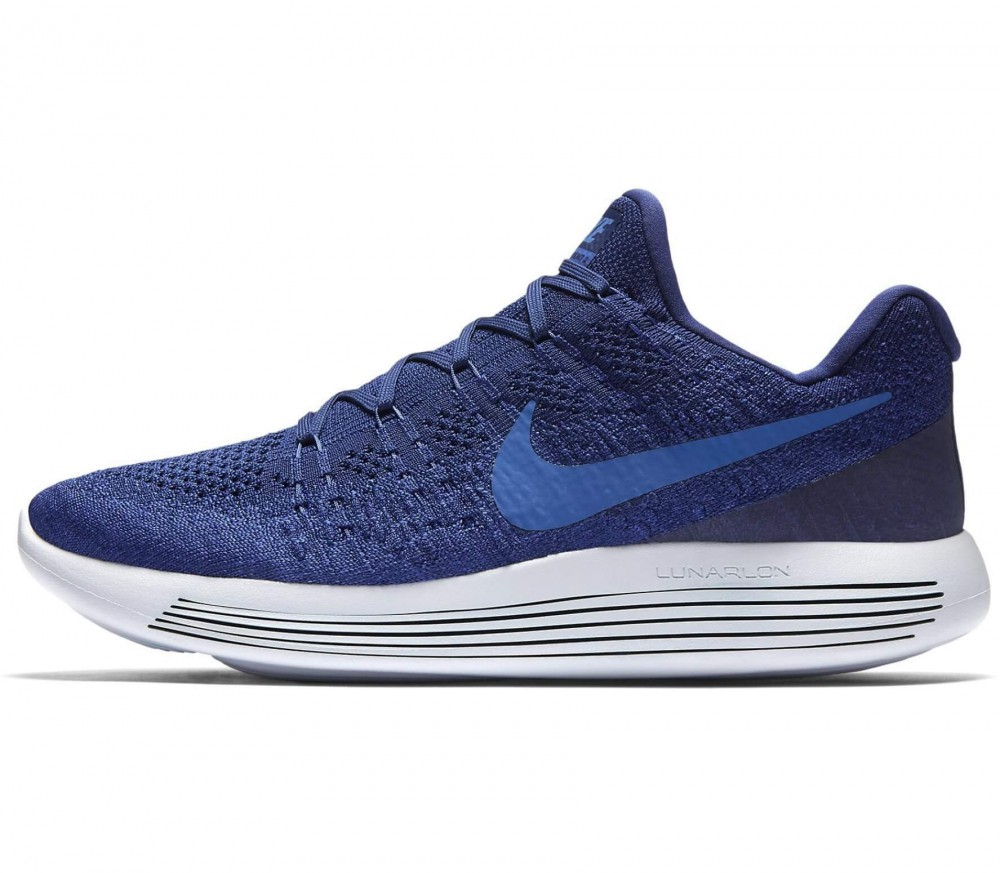 Nike - Lunar Epic Low Flyknit 2 men's running shoes (blue)