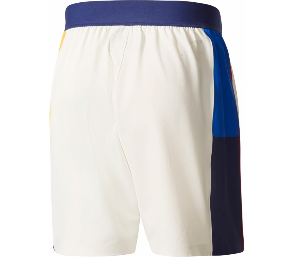 Adidas - New York Color Blocked men's tennis shorts (white)
