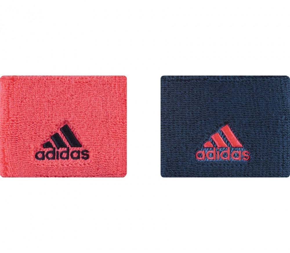 Adidas - Schweissband S (red/dark blue)