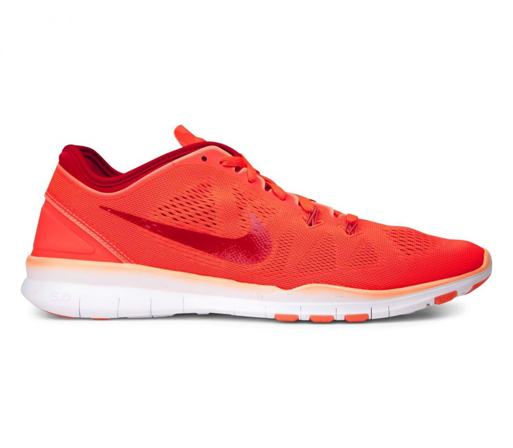 Nike Free Flyknit Tr 5.0 Rote Trainingsschuh Frauen