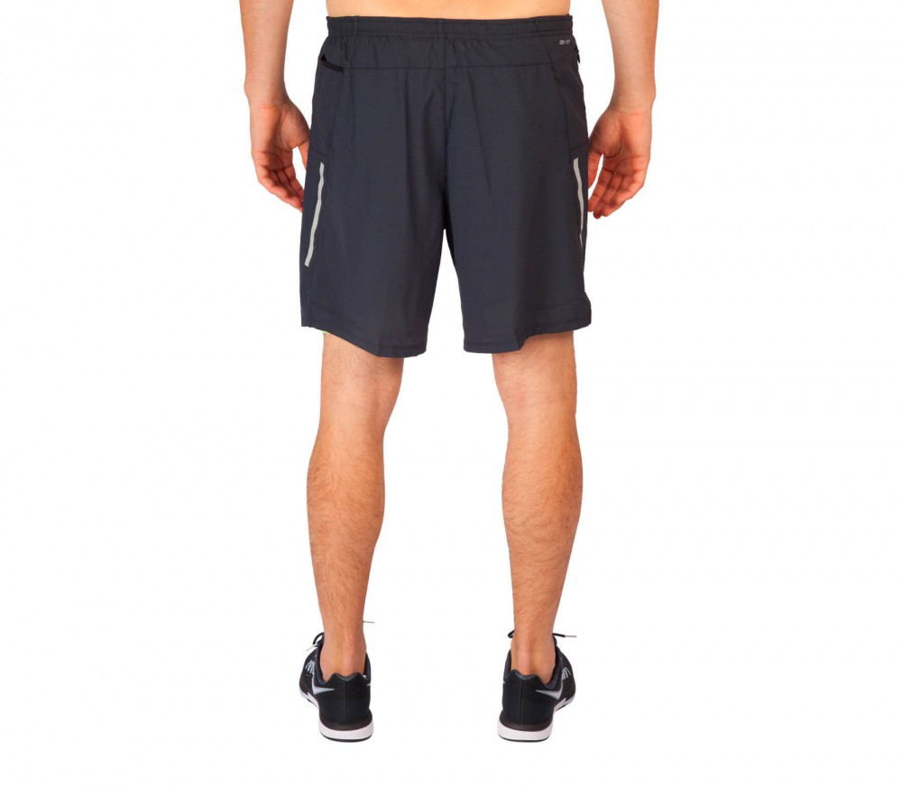 Nike - 7 Inch Phenom 2-in-1 men's running shorts (light yellow/black)