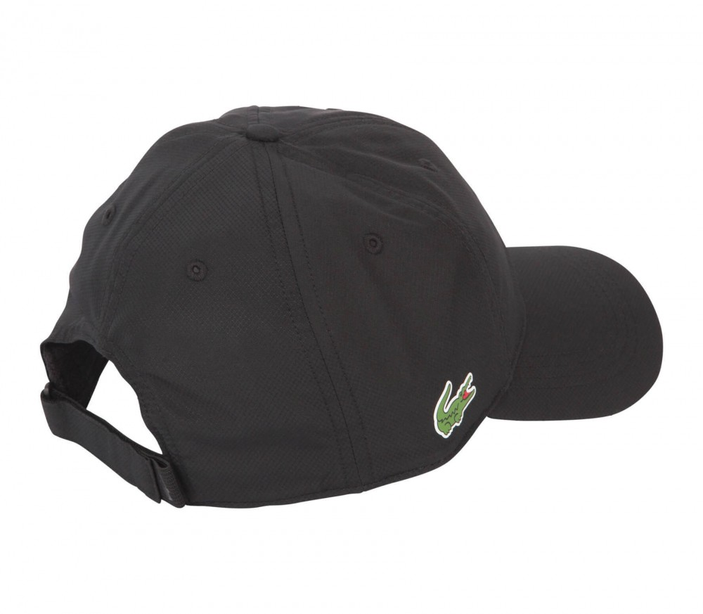 lacoste tennis cap black buy it at the keller sports