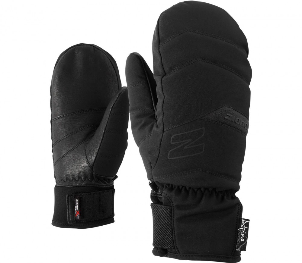 Ziener - Komilla AS® AW Mitten women's skis gloves (black)