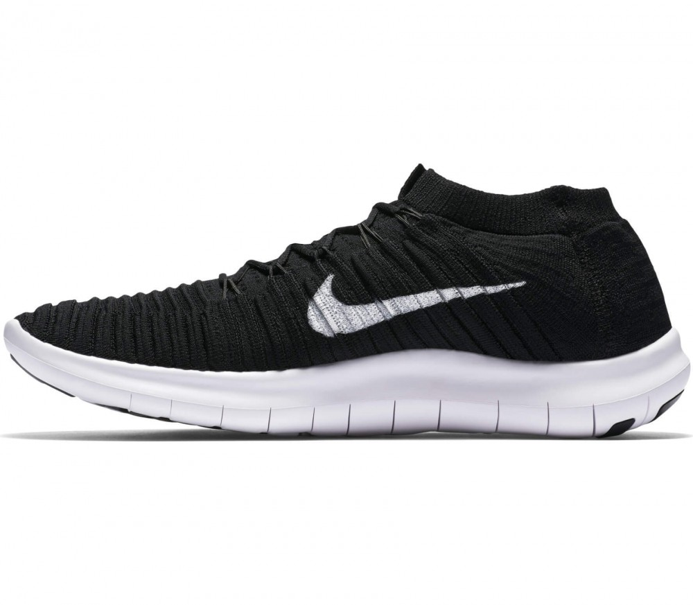 Nike - Free Motion Fly Knit men's running shoes (black/white)