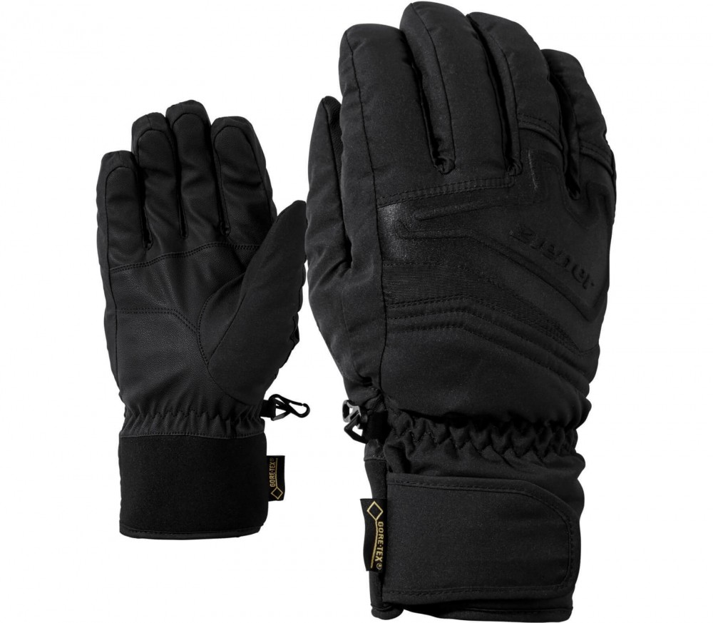 Ziener - Gersom GTX men's ski gloves (black)