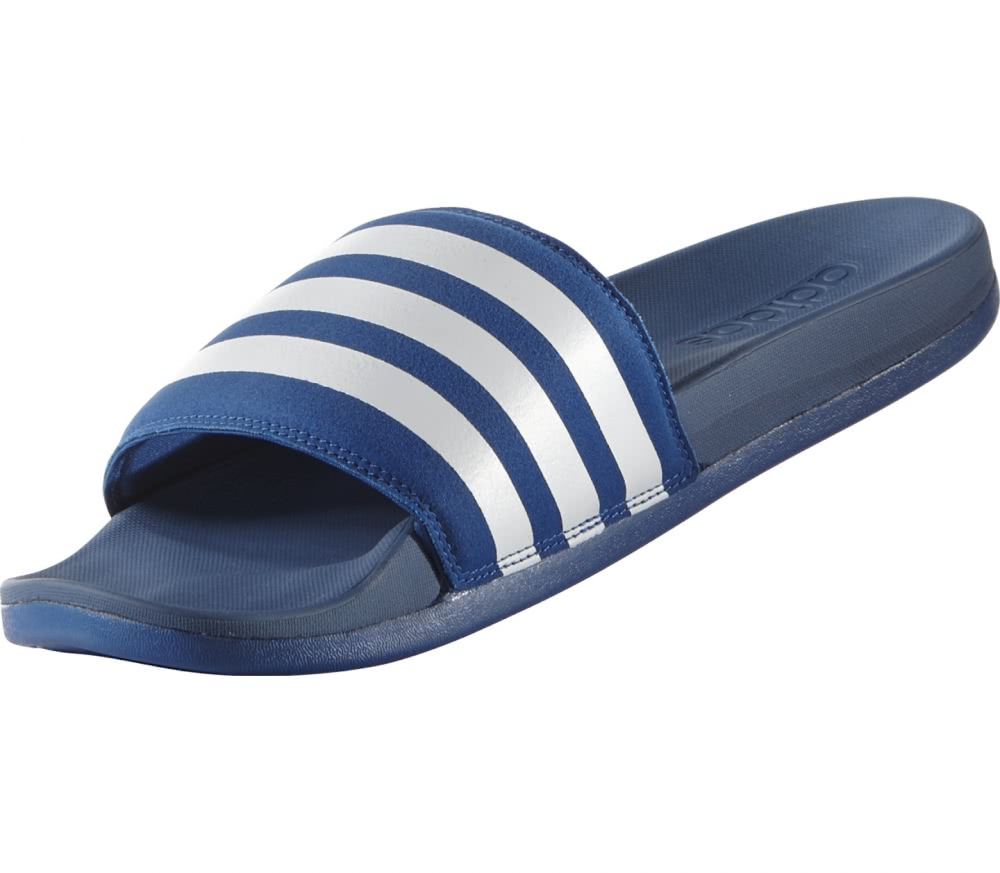 adidas adilette cf ultra men 39 s slides blue white buy. Black Bedroom Furniture Sets. Home Design Ideas