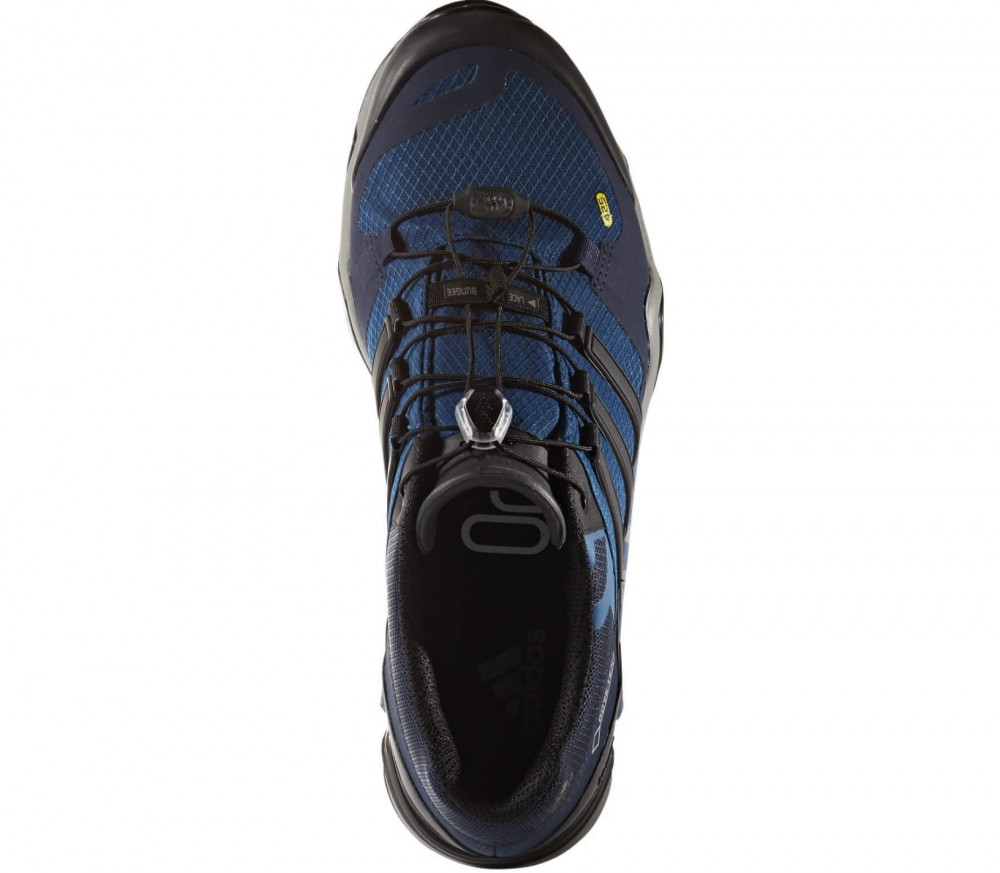 Adidas - Terrex Fast R GTX men's hiking shoes (black/dark blue)
