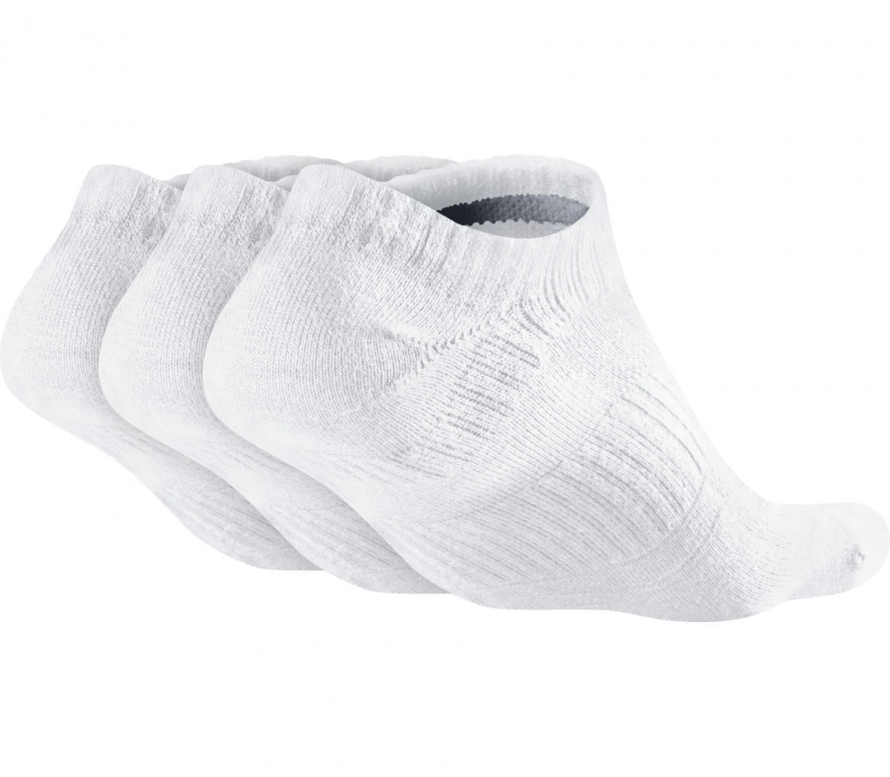 Nike - Dri-Fit Lightweight No-Show 3 pairs training socks (white/grey)