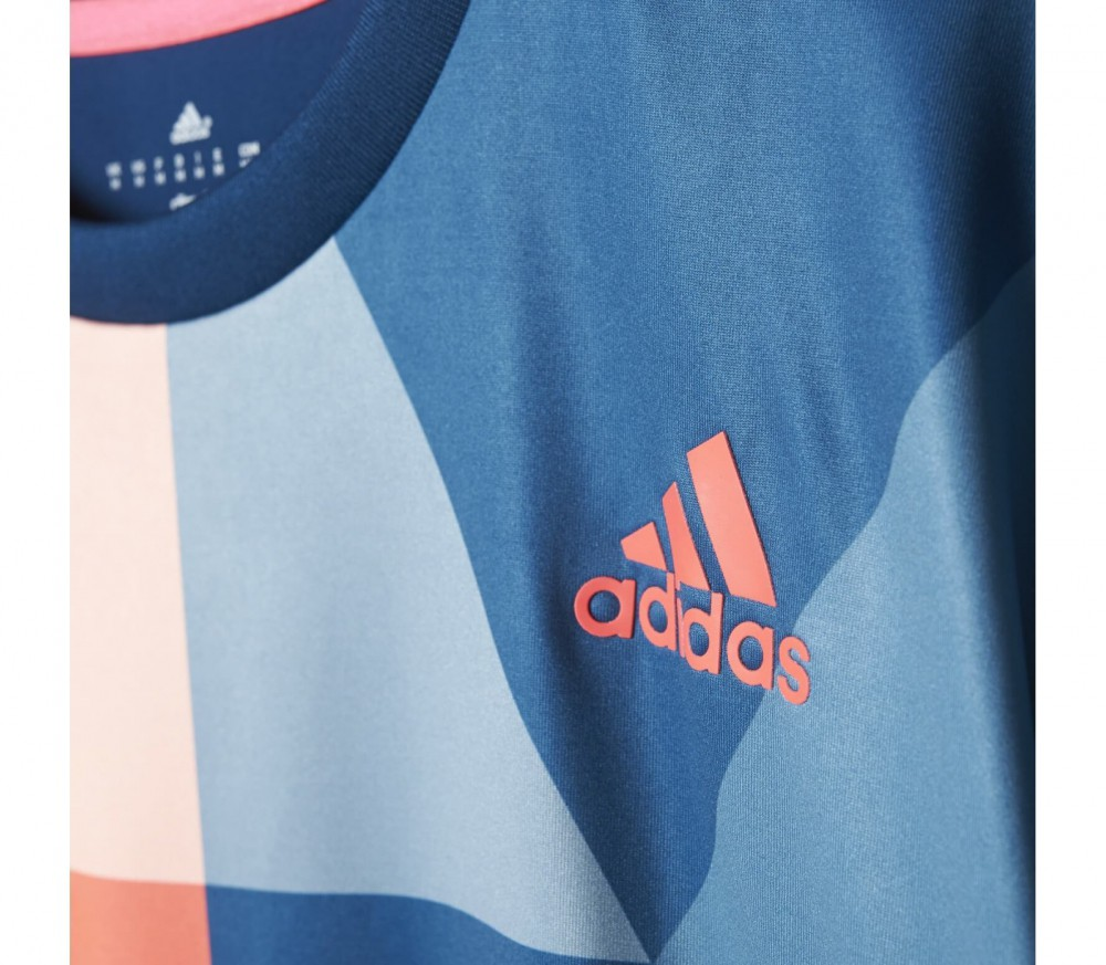 Adidas - Pro men's tennis top (dark blue/red)