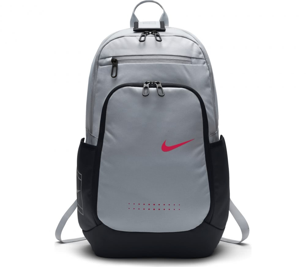 nike court tech 2 0 tennis rucksack grey black buy. Black Bedroom Furniture Sets. Home Design Ideas
