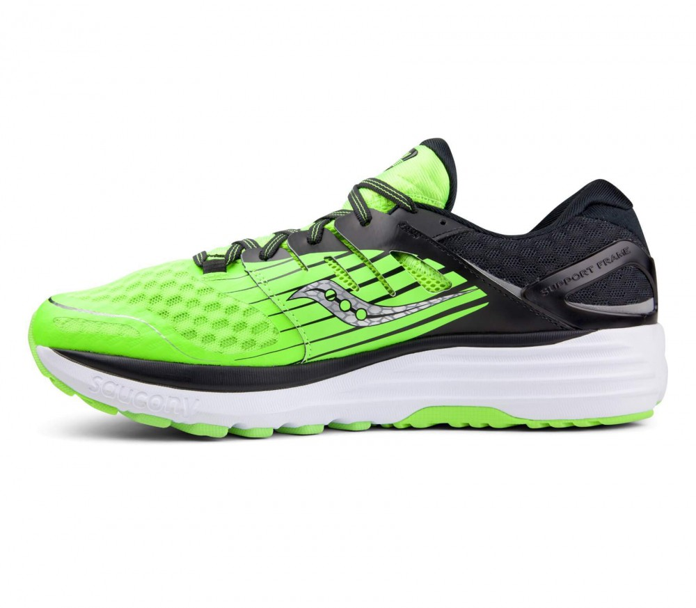 Saucony - Triumph ISO2 men's running shoes (green/black)