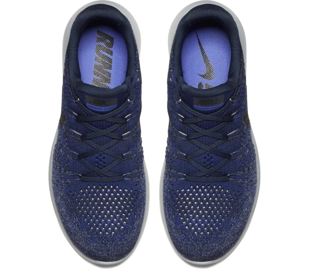 Nike - LunarEpic Low Flyknit 2 men's running shoes (blue/white)