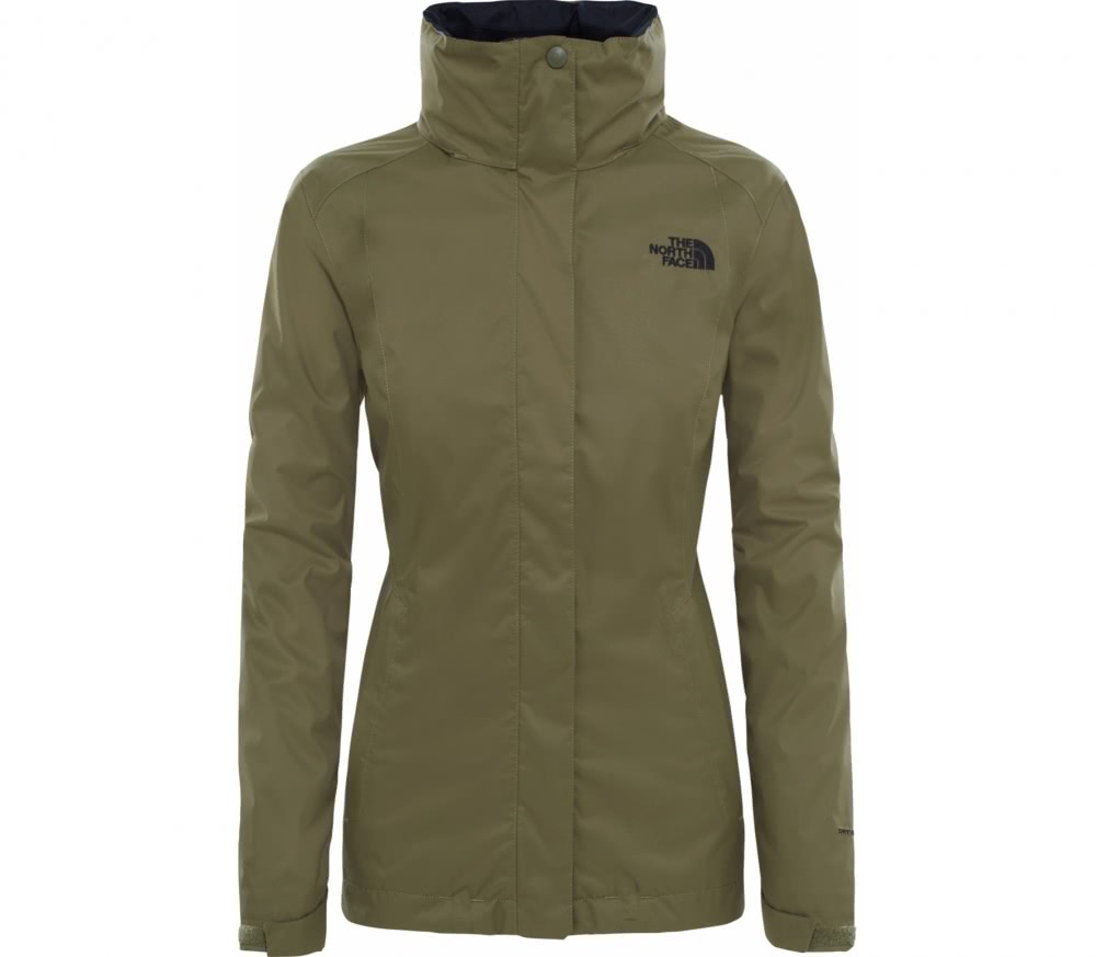 The North Face - Evolve II Triclimate® women's double jacket (green/brown)