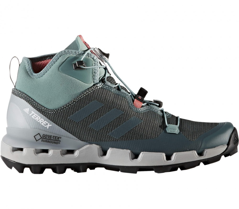 adidas terrex fast mid gtx surround women 39 s hiking shoes. Black Bedroom Furniture Sets. Home Design Ideas