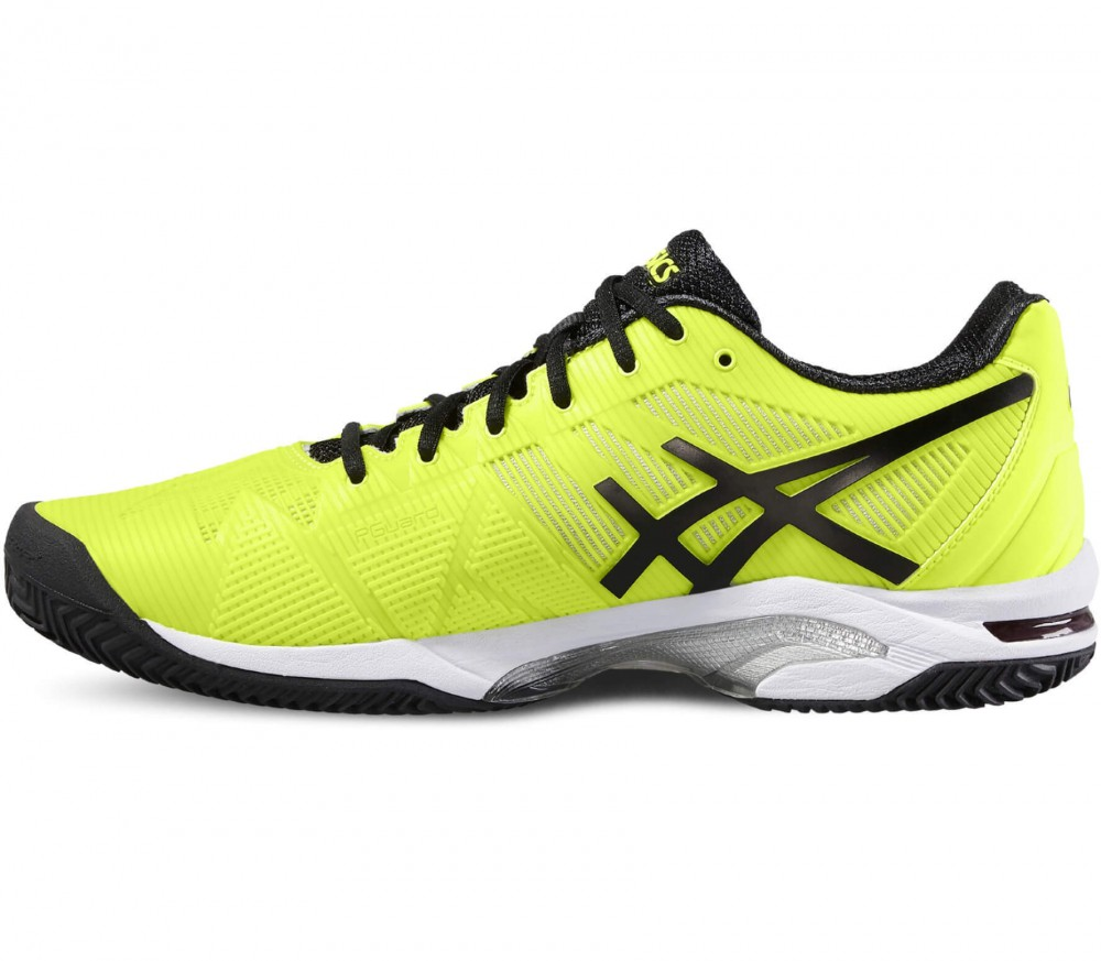 Asics - Gel-Solution Speed 3 Clay Special men's tennis shoes (yellow/black)