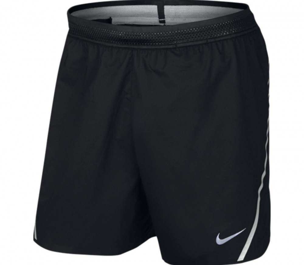 nike aeroswift 5 inch men 39 s running shorts black white. Black Bedroom Furniture Sets. Home Design Ideas