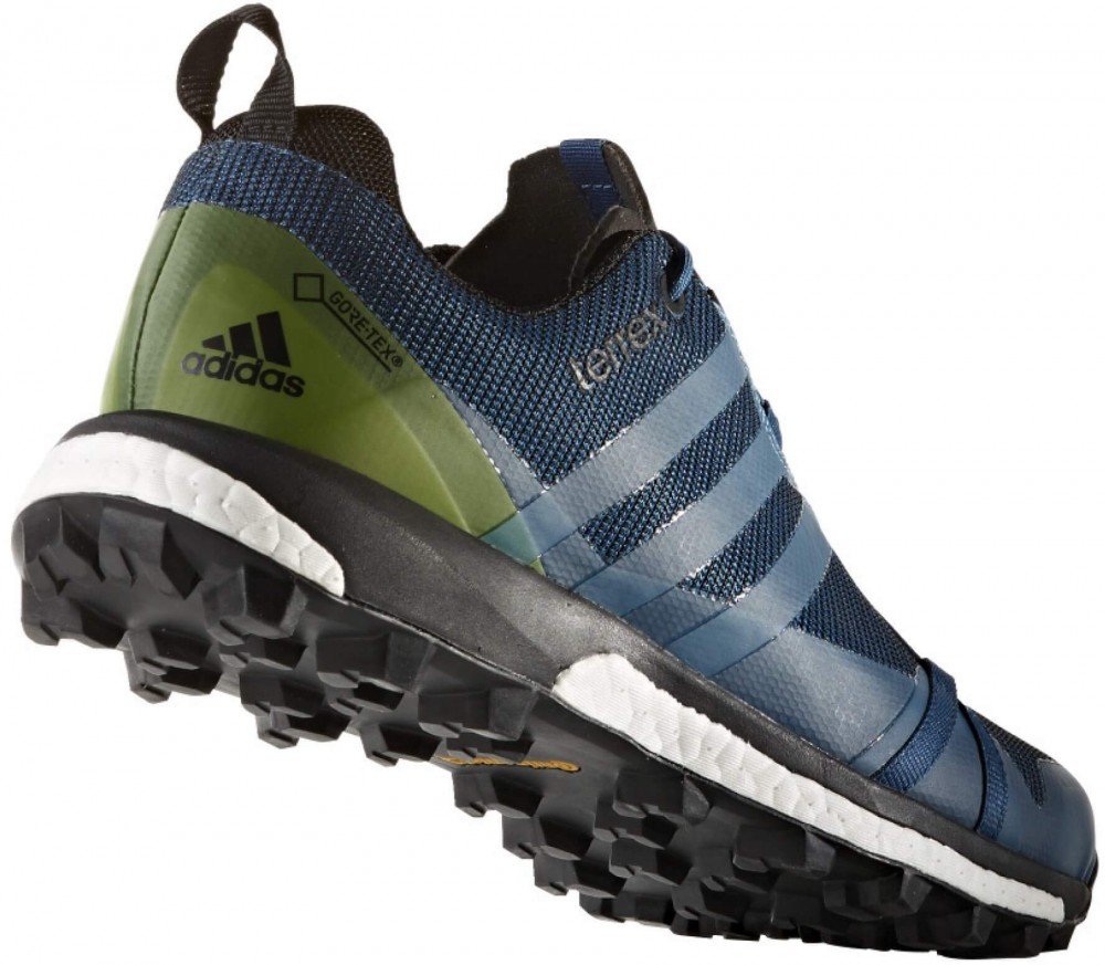 Adidas - Terrex Agravic GTX men's hiking shoes (dark blue/black)