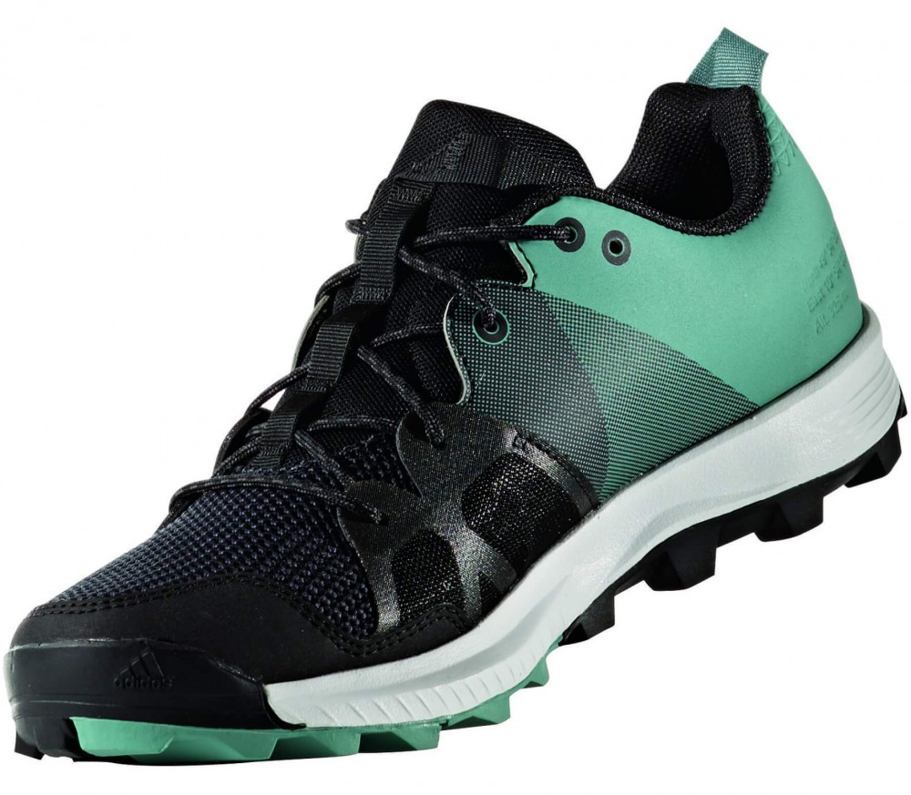 Adidas - Kanadia 8 TR women's running shoes (black/light green)