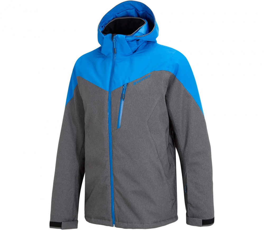 Ziener - Pavlo men's ski jacket (grey/blue)