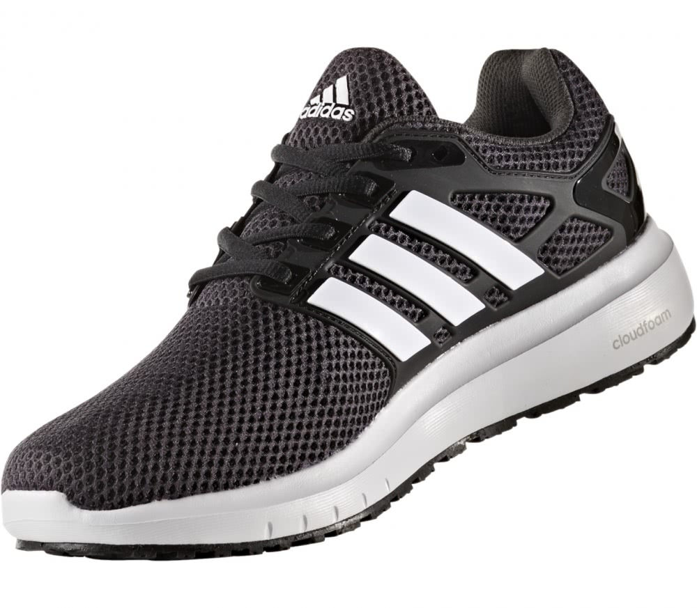 Adidas - Energy Cloud men's running shoes (black/white