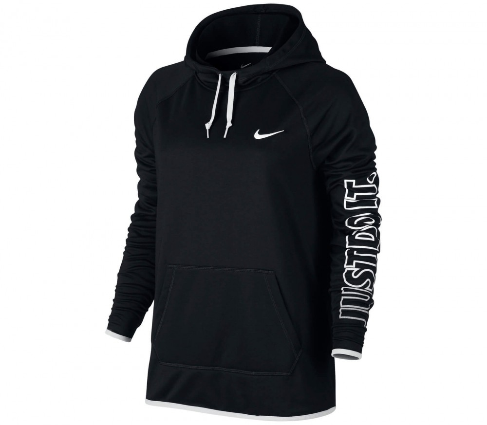 Nike - Dry women's training hoodie (black)