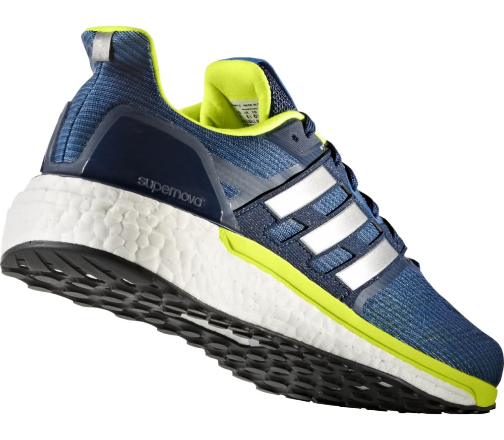 Adidas - Supernova men's running shoes (blue/yellow)