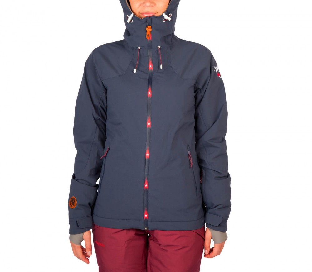maloja aronam women 39 s skis jacket dark blue buy it at the keller sports online shop. Black Bedroom Furniture Sets. Home Design Ideas