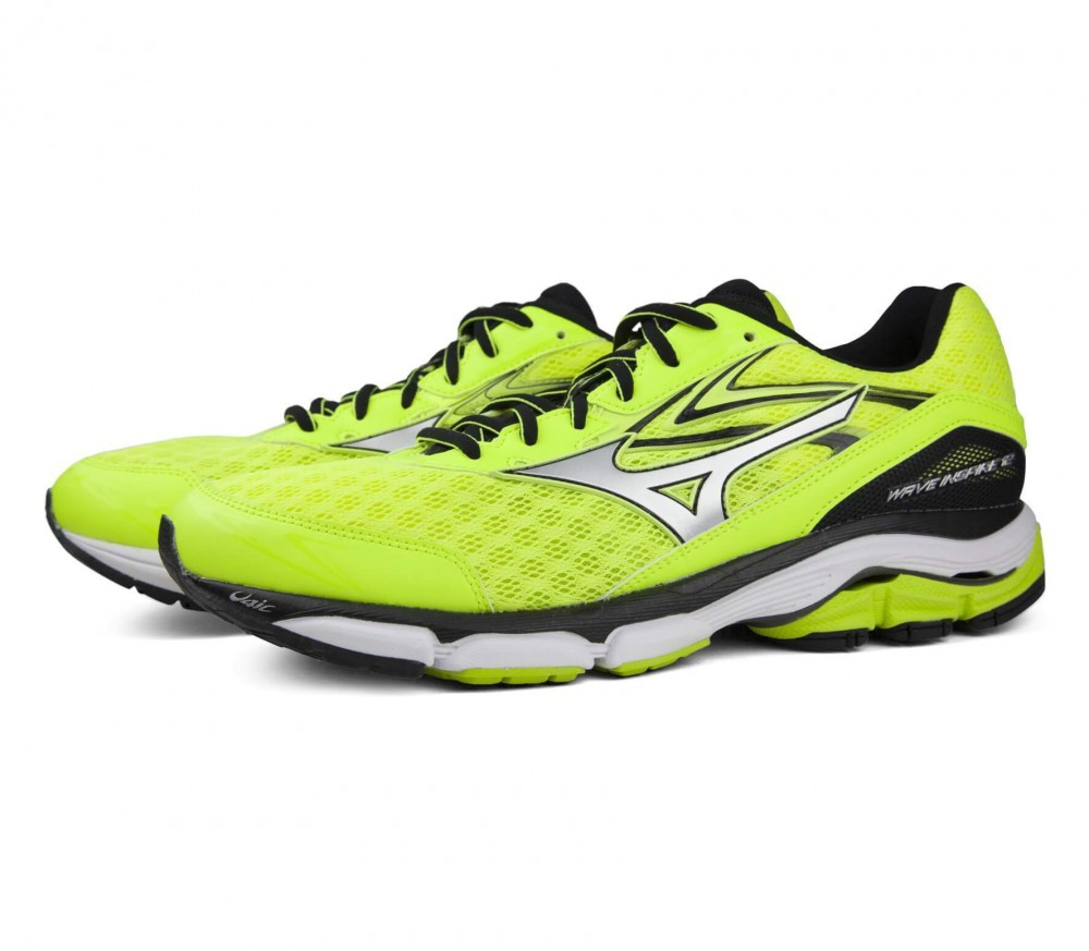 Mizuno - Wave Inspire 12 men's running shoes (yellow/black)