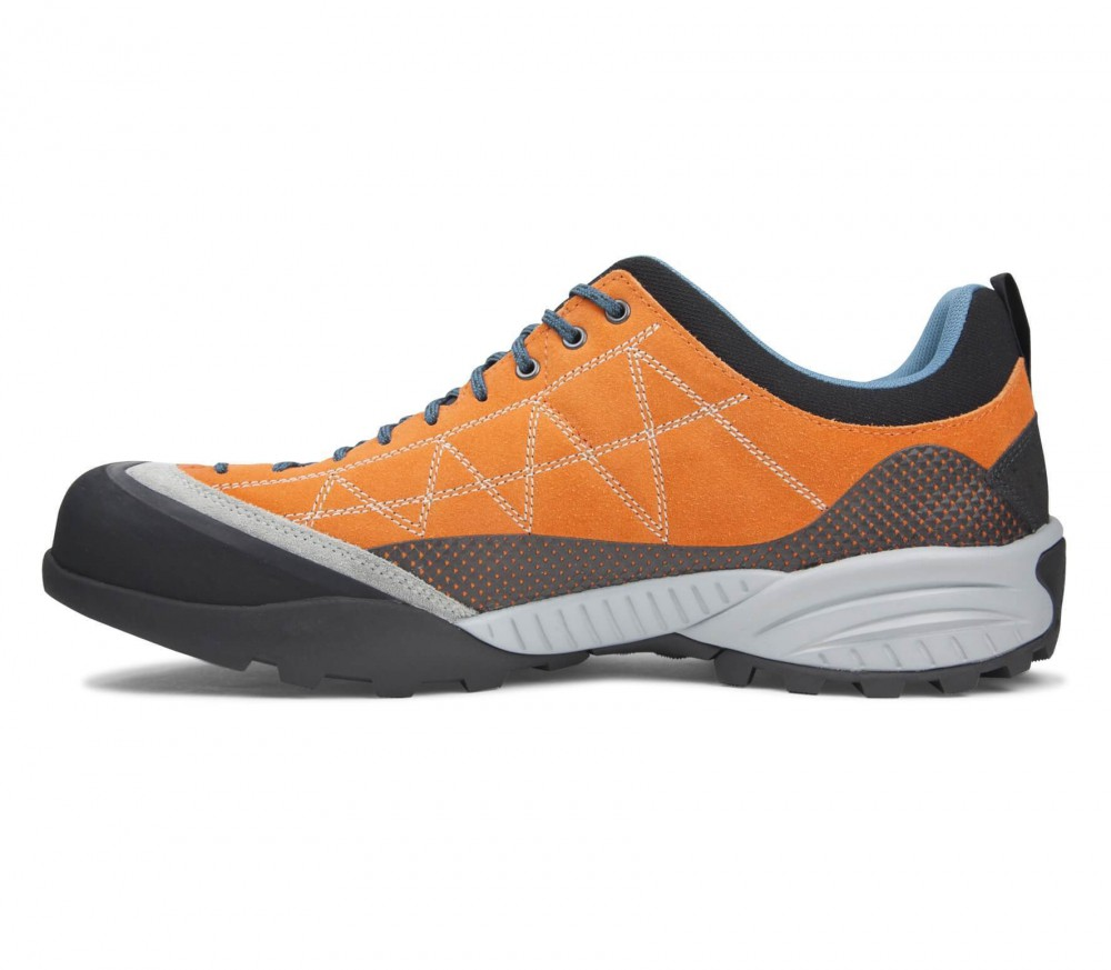 Scarpa - Zen Pro men's multi-sports shoes (orange/blue)