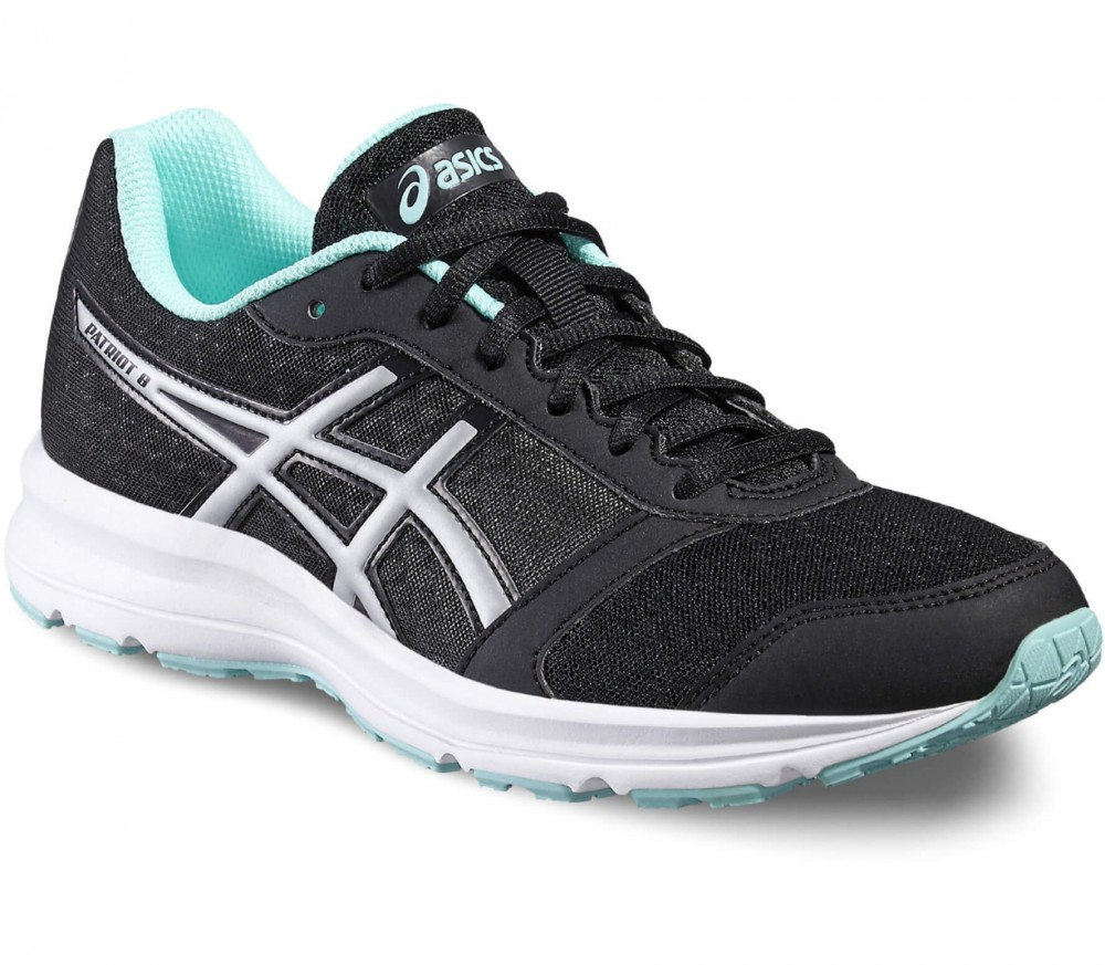 Asics - Patriot 8 women's running shoes (black/silver)