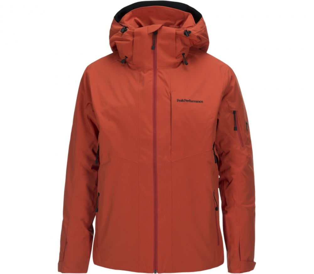 peak performance maroon 2 men 39 s skis jacket orange buy it at the keller sports online shop. Black Bedroom Furniture Sets. Home Design Ideas