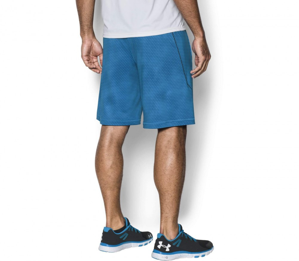 Under Armour - Raid Novelty men's training shorts (blue)
