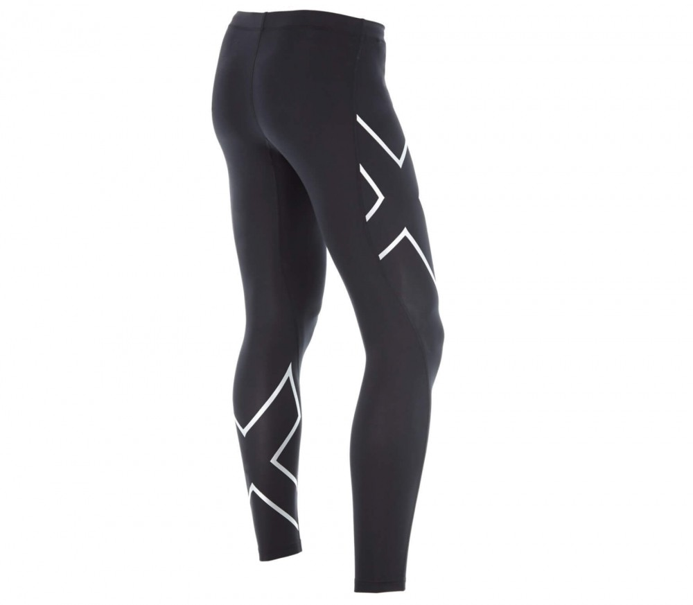 2XU - TR2 Compression men's running pants (black/silver)