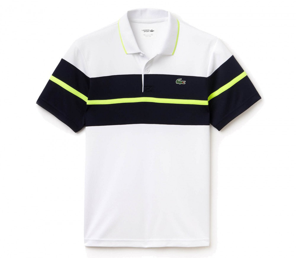 lacoste shortsleeve ribbed collar men 39 s tennis polo. Black Bedroom Furniture Sets. Home Design Ideas