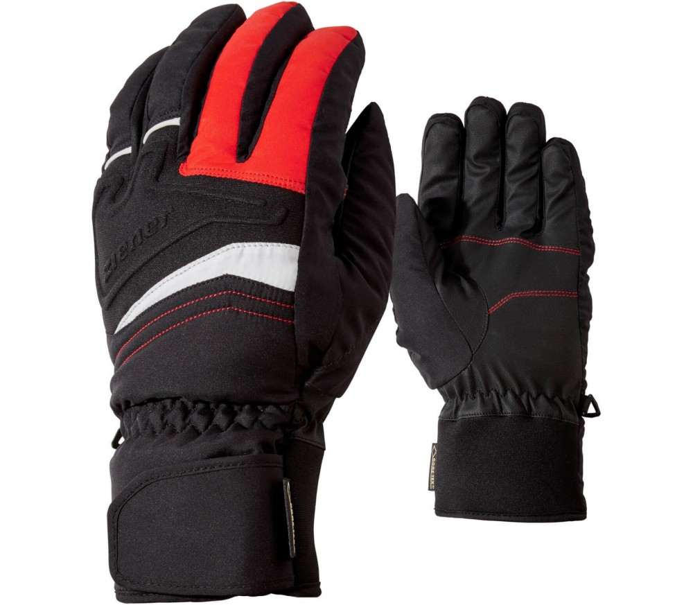 Ziener - Gersom GTX men's skis gloves (red)