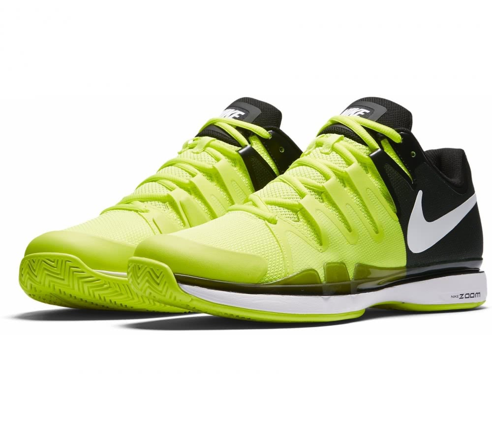 Nike - Air Zoom Vapor 9.5 Tour men's tennis shoes (yellow/black)