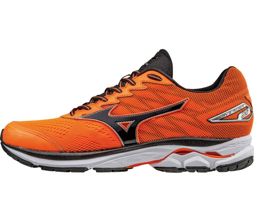 Mizuno - Wave Rider 20 men's running shoes (orange/black)