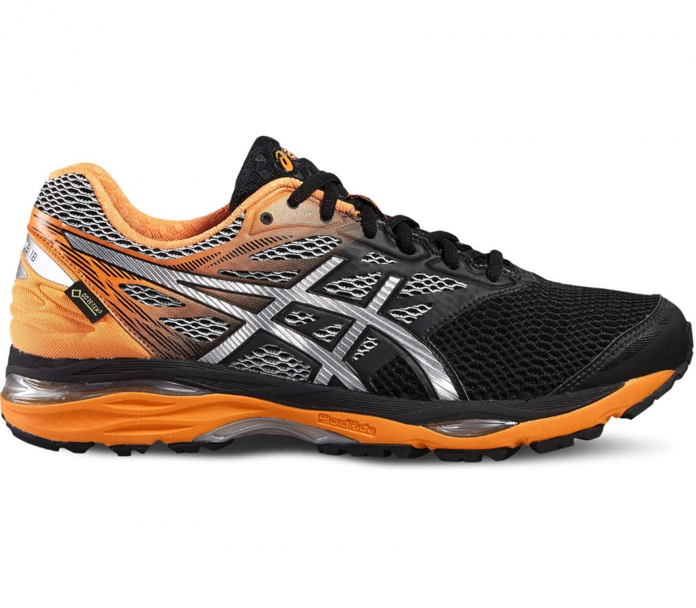 ASICS - Gel-Cumulus 18 GTX® men's running shoes (orange/black)