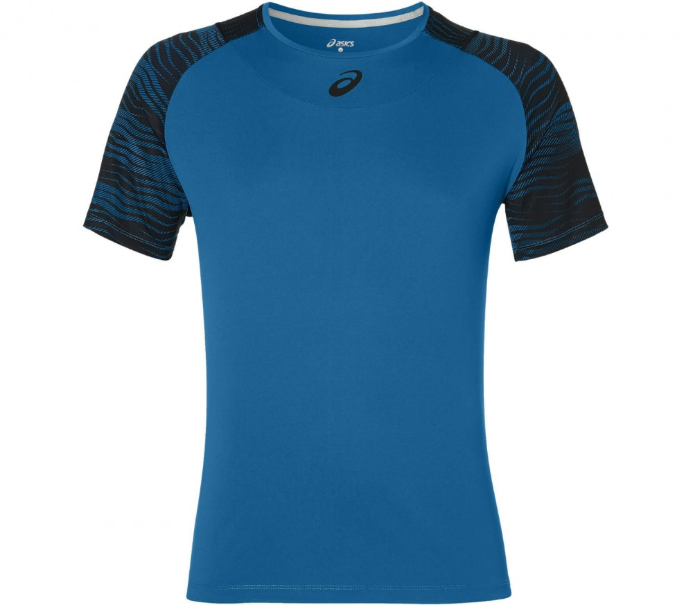 Asics - Club GPX men's tennis top (blue/grey)