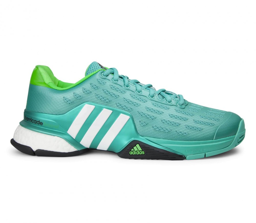 Adidas - Barricade 2016 Boost men's tennis shoes (green/white)