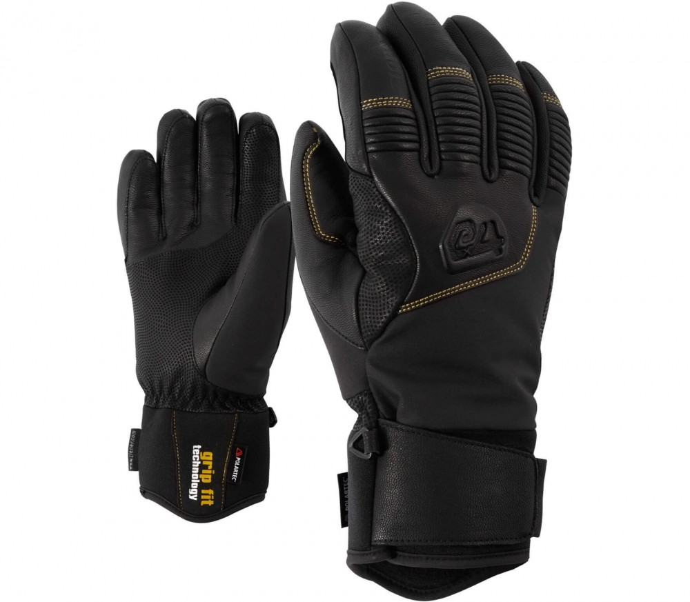 Ziener - Ganzenberg AS® AW men's ski gloves (black)