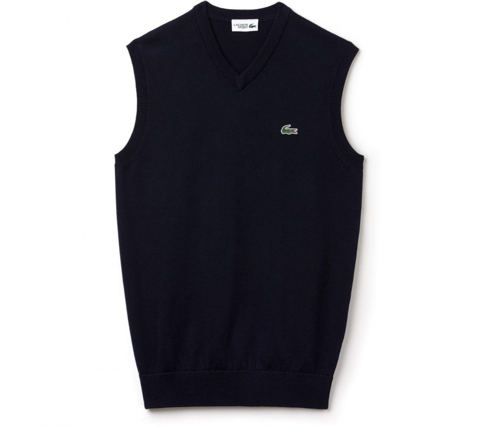 lacoste men 39 s tennis pullover dark blue buy it at. Black Bedroom Furniture Sets. Home Design Ideas