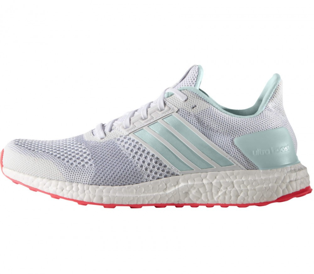 adidas ultra boost st women 39 s running shoes white red. Black Bedroom Furniture Sets. Home Design Ideas