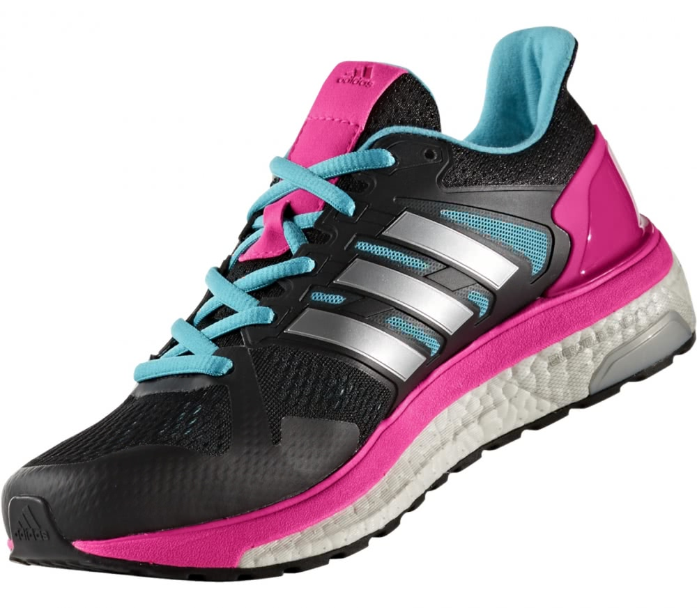 Adidas - Supernova ST women's running shoes (light grey/pink)
